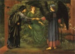 Edward Burne Jones - Bilder Gemälde - The Heart of the Rose