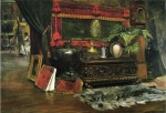 William Merritt Chase - Bilder Gemälde - A Corner of My Studio