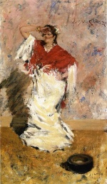 William Merritt Chase - Bilder Gemälde - Dancing Girl