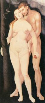 Hans Baldung - paintings - Adam and Eve