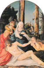 Hans Baldung - paintings - The Lementation of Christ