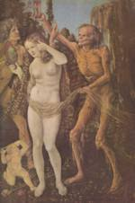 Hans Baldung - paintings - Three Ages of the Woman and the Death