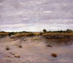 William Merritt Chase  - Bilder Gemälde - Wind Swept Sands Shinnecock Long Island