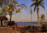 Albert Bierstadt - paintings - A View in the Bahamas