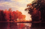 Albert Bierstadt - paintings - Autumn Woods