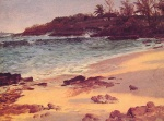 Albert Bierstadt - paintings - Bahama Cove