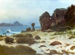 Albert Bierstadt - paintings - Bay of Monterey