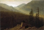 Albert Bierstadt - paintings - Bears in the Wilderness