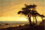 Albert Bierstadt - paintings - California Coast