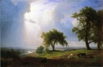 Albert Bierstadt - paintings - California Spring