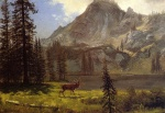 Albert Bierstadt - paintings - Call of the Wild