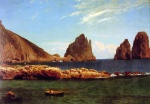 Albert Bierstadt - paintings - Capri