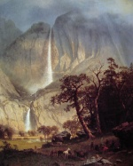 Albert Bierstadt - paintings - Cho looke