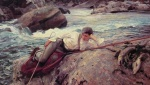 John Singer Sargent  - Bilder Gemälde - On his Holidays