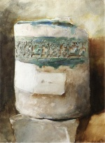 John Singer Sargent  - Bilder Gemälde - Persian Artifact with Faience Decoration