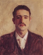 John Singer Sargent  - paintings - Portrait of a Man
