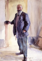 John Singer Sargent  - paintings - Portrait of Ambrogio Raffele