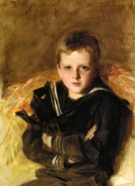 John Singer Sargent  - paintings - Portrait of Caspar Goodrich