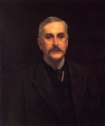 John Singer Sargent  - paintings - Portrait of Colonel Thomas Edward Vickers