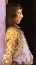 John Singer Sargent  - paintings - Portrait of Dorothy Barnard