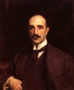 John Singer Sargent  - paintings - Portrait of Douglas Vickers