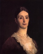 John Singer Sargent  - paintings - Portrait of Frances Mary Vickers