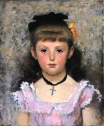 John Singer Sargent  - paintings - Portrait of Jeanne Kieffer