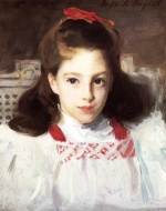 John Singer Sargent  - paintings - Portrait of Miss Dorothy Vickers