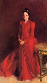 John Singer Sargent  - paintings - Portrait of Mrs. Elliott Fitch Shepard (Margaret Louisa Vanderbilt)