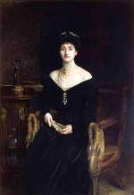 John Singer Sargent  - paintings - Portrait of Mrs. Ernest G. Raphael nee Florence Cecilia Sassoon