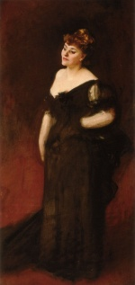 John Singer Sargent  - paintings - Portrait of Mrs. Harry Vane Milbank