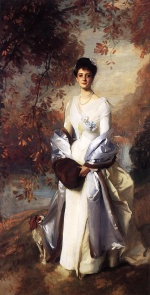 John Singer Sargent  - paintings - Portrait of Pauline Astor