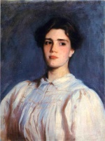 John Singer Sargent  - paintings - Portrait of Sally Fairchild