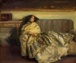 John Singer Sargent  - paintings - Repose