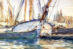 John Singer Sargent  - paintings - Shipping Majorca