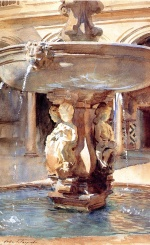 John Singer Sargent  - paintings - Spanish Fountain