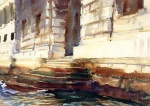 John Singer Sargent  - paintings - Steps of a Palace