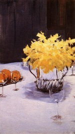 John Singer Sargent  - paintings - Still Life with Daffodils