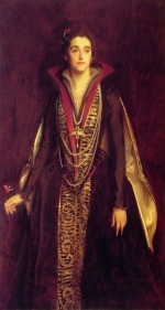 John Singer Sargent  - paintings - The Countess of Rocksavage