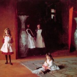 John Singer Sargent  - paintings - The Daughters of Edward Darley B
