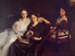 John Singer Sargent  - paintings - The Misses Vickers