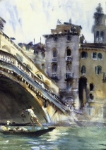 John Singer Sargent  - paintings - The Rialto Venice