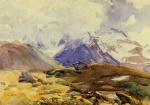 John Singer Sargent  - paintings - The Simplon