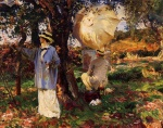 John Singer Sargent  - paintings - The Sketchers