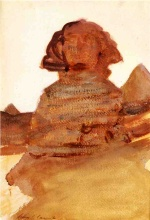 John Singer Sargent  - paintings - The Sphinx