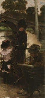 James Jacques Joseph Tissot - paintings - A Declariation of Love