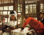 James Jacques Joseph Tissot - paintings - An Interesting Story