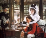 James Jacques Joseph Tissot - Bilder Gemälde - Bad News