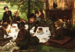 James Jacques Joseph Tissot - Bilder Gemälde - Childrens Party