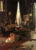 James Jacques Joseph Tissot - Bilder Gemälde - Hide and Seek